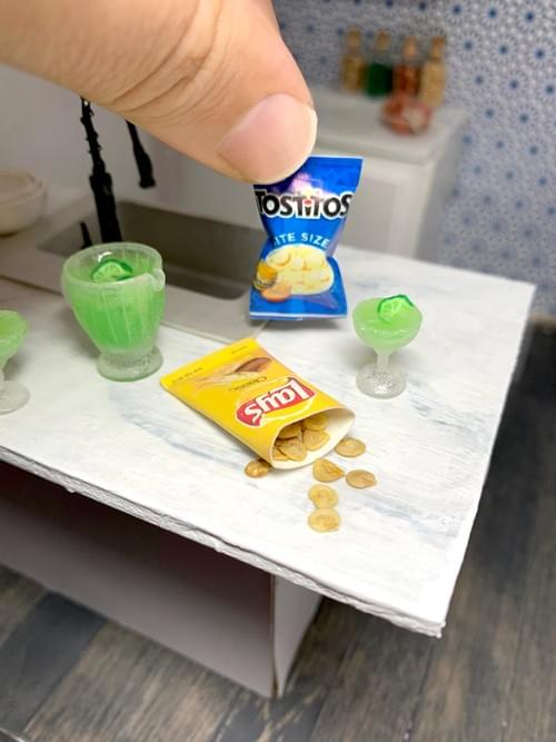 Miniature Bag of Chips - 1:12 Scale