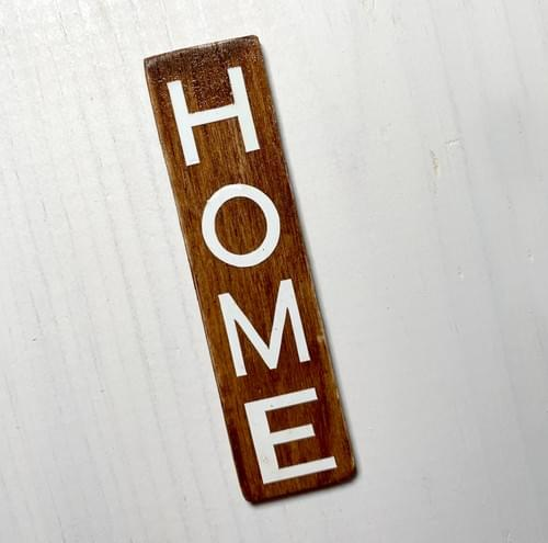 Miniature Home Sign - 1:12
