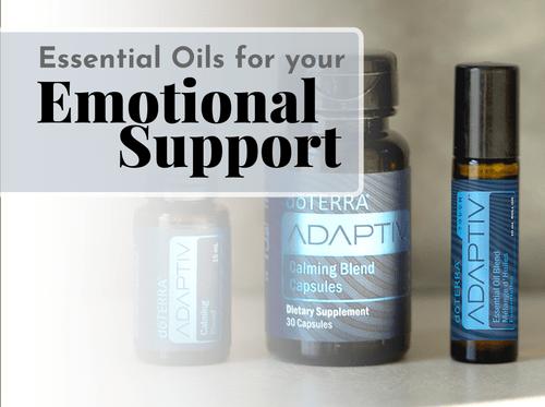 Essential Oils for Emotional Support Workshop
