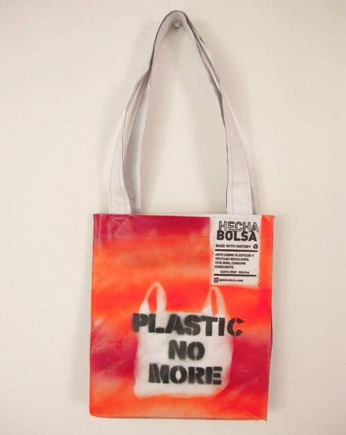 Plastic No More • by Letra K