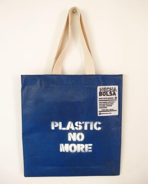 Plastic No More • by Letra K
