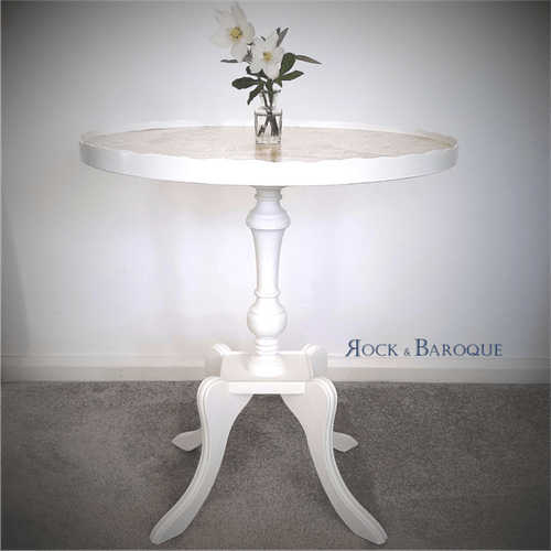 Pretty little pie crust occasional table