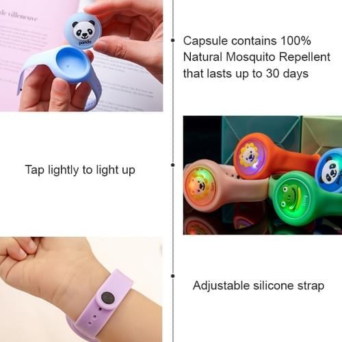 All Natural Mosquito Repellent Watch (Buy 6 & Above For Free Shipping + Free Gifts)
