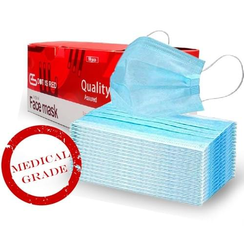 210 Boxes Medical Grade Surgical Mask (50 PCS / Box) WHOLESALE