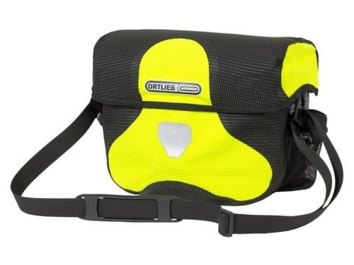 Ortlieb Stuurtas neon geel/zwart