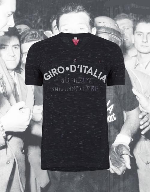 T-shirt Le Patron 'Maglia Nera Del Giro'