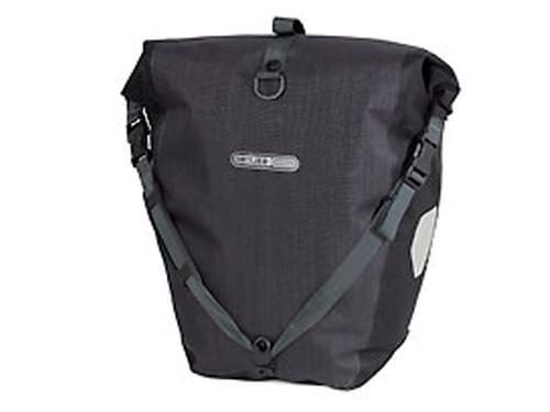 Ortlieb dubbele tas achter zwart