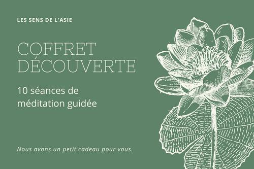 Coffret Découverte - 10 séances de méditation guidée