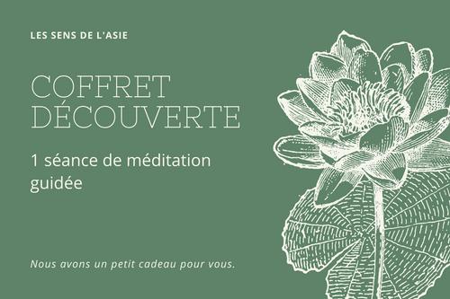 Coffret Découverte - 1 séance de méditation guidée
