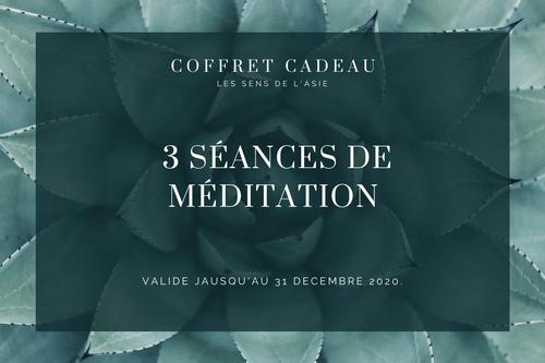 Coffret Découverte - 3 séances de méditation guidée (30 mn)