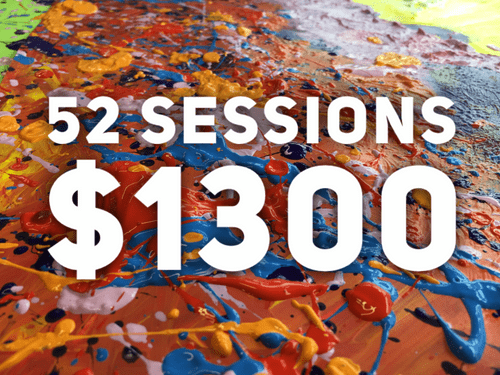 Weekly classes - 52 sessions ($2600 value of credits)