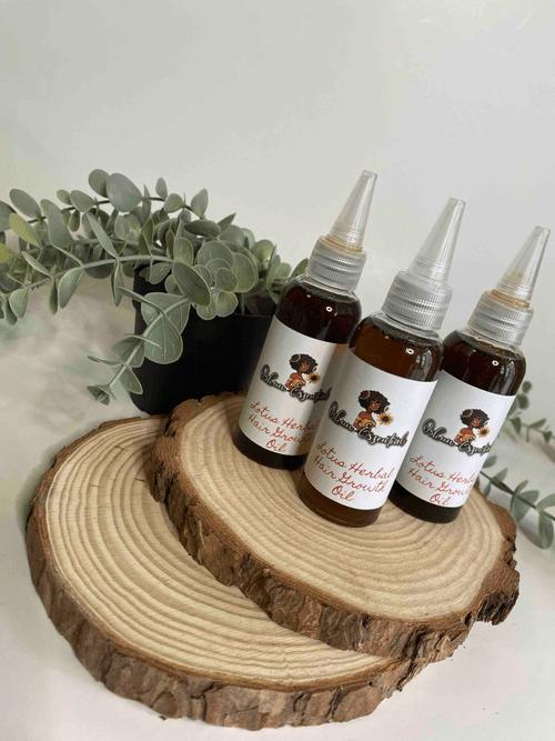Lotus Hair Growth Oil 2oz. (nozzle)