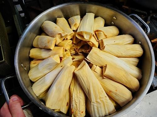Tamales (12) Pork, Chicken, Beef, Vegetable