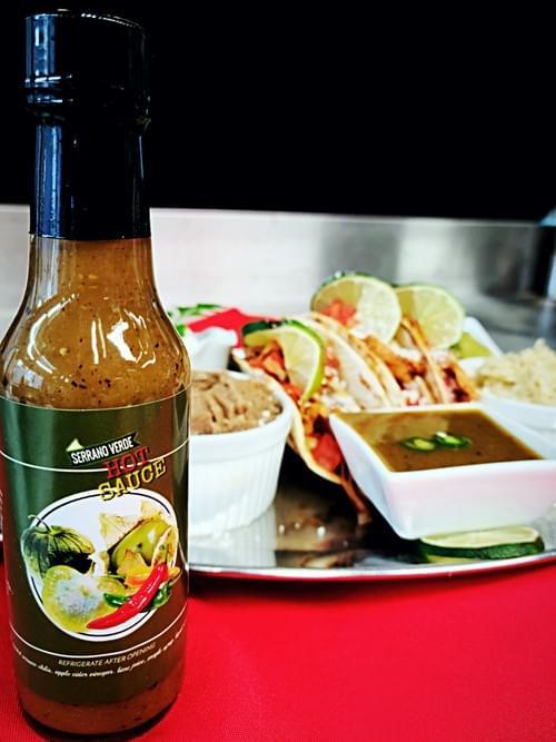 Serrano Verde hot sauce