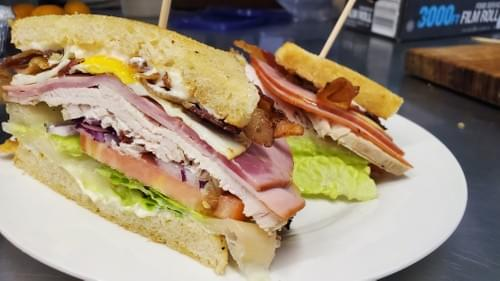 The Big Club Sandwich