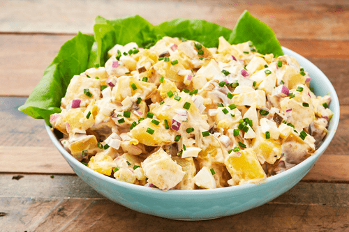Classic potato salad (half tray 12-16)