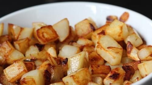 Fried Diced Potatoes