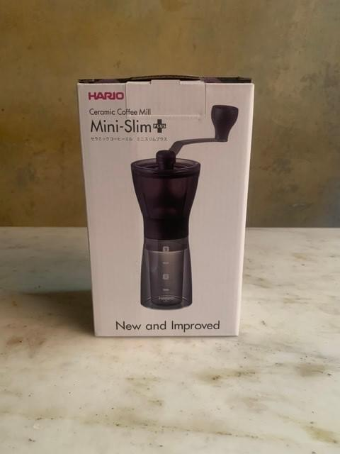 Hairdo mini-slim coffee mill