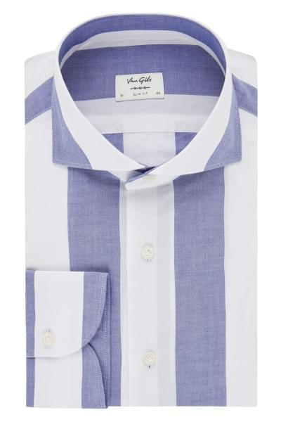 Van Gils striped shirt White
