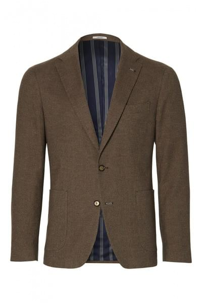 Elray jacket (Herringbone pattern Brown)