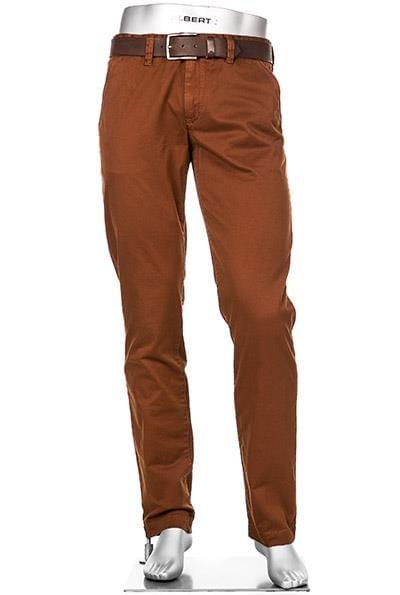 Reddish Brown chinos by ALBERTO