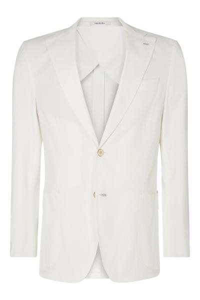 Elliot washed jacket white