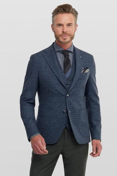 Mix & Match Elliot jacket with matching waist-coat and trousers.