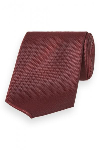 Van Gils silk tie Dark Red