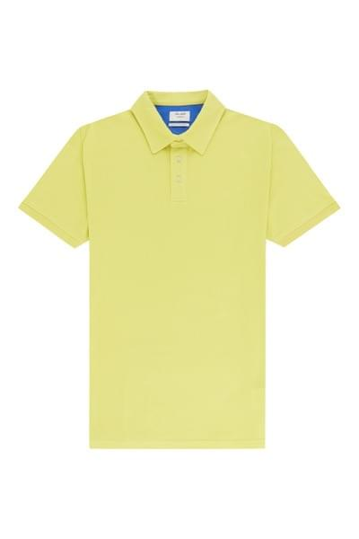 Sergio plain tailored fit polo, Apple Green