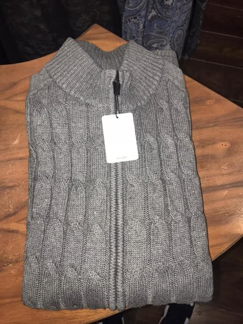 Van Gils Cardigan Grey