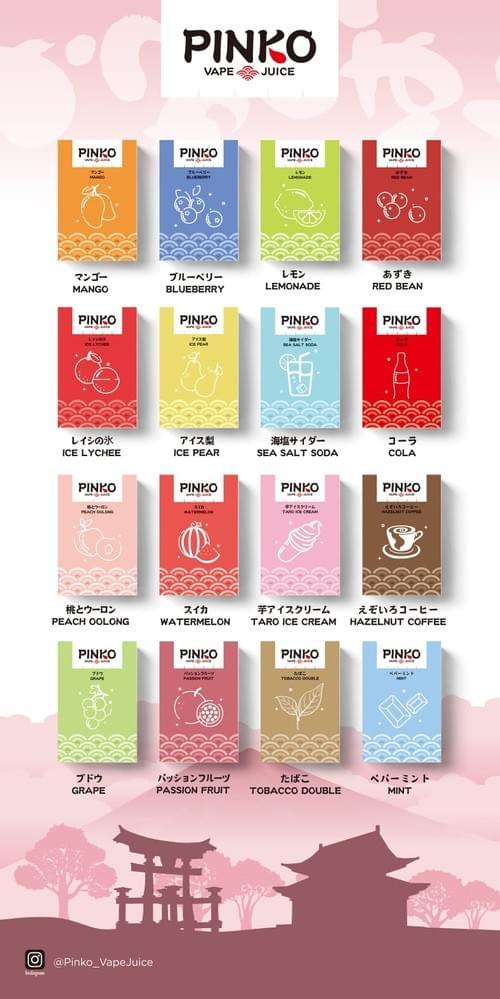 RELX一代經典通用煙彈 - PINKO(16種口味)