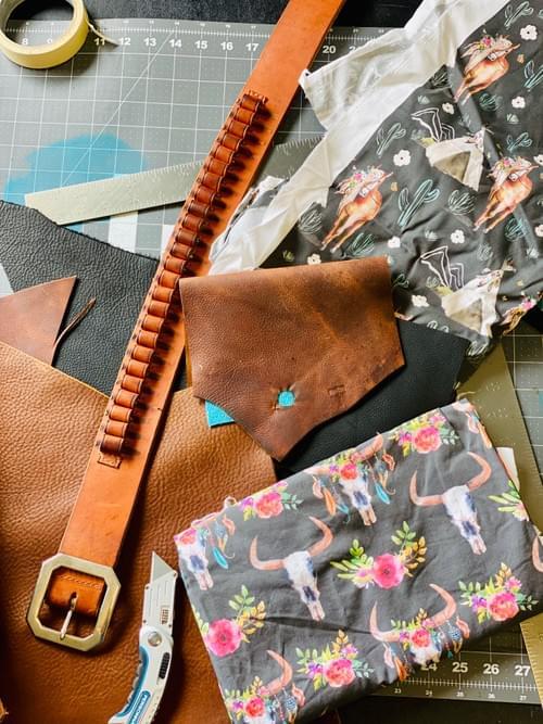 Hot Stuff Military Belt Bag
