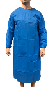 Disposable Isolation Gown - Non-woven Level II  (1 Box)