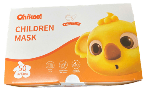 Children's Earloop Face Mask - Singly Use - 3-PLY - Level II  (1 Carton)