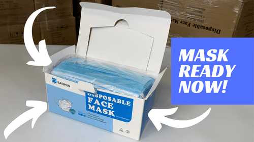 Surgical Face Mask; Box of 2,000 Mask