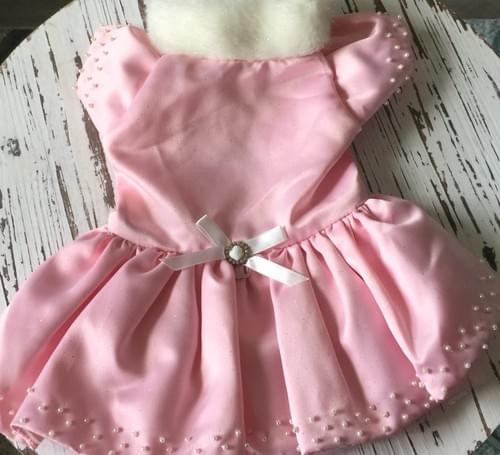 TONI MARI PINK CHRISTMAS DRESS M