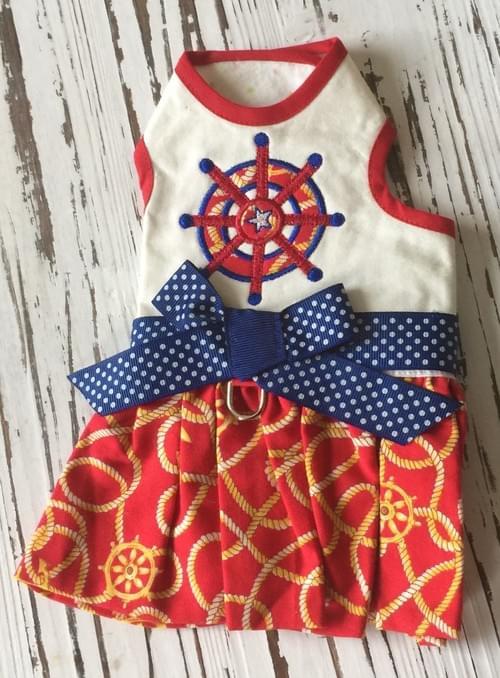 Toni Mari Sailor Dress L