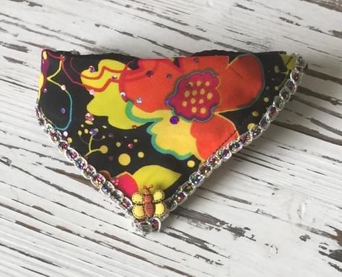 Flower Power Scarf Collar