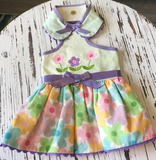 TONI MARI FLOWER DRESS L
