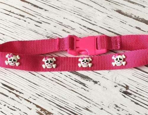 Girly Skull Collar