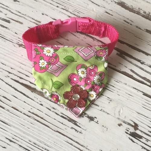 Spring Flower Scarf Collar