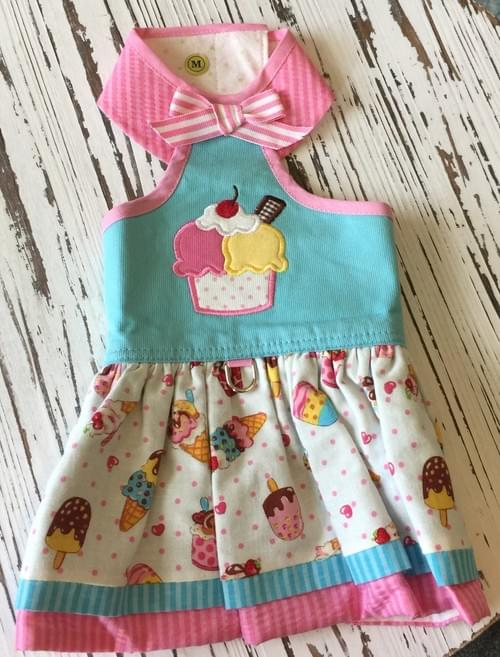 TONI MARI ICE CREAM DRESS M