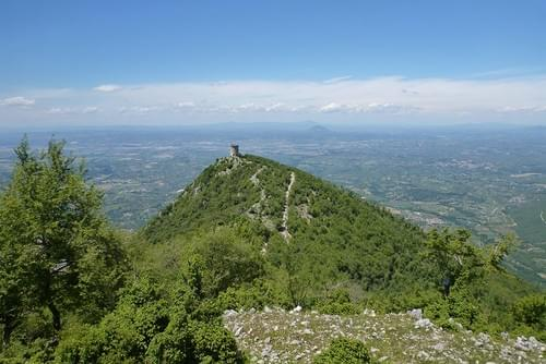 Every 1st Sunday every month | Peace with unforgettable 360° views on top of Monte Gennaro