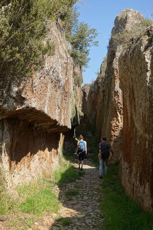 Every 1st Saturday every month| Wilderness of Biedano Canyon & Marturanum Archaeological park