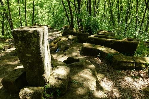 Every 3rd Sunday every month | Bomarzo and the magic Etruscan pyramid