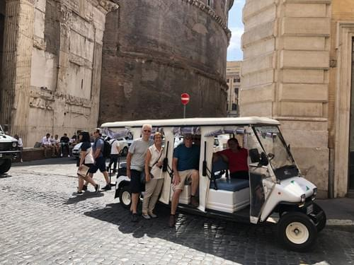 The Golf Cart Adventure of a Surprising Rome