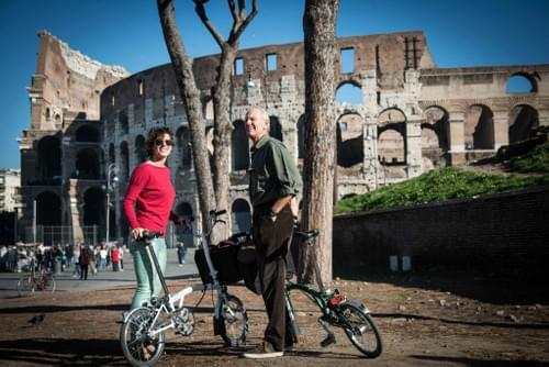 "The Bike tour in Brompton of the ""Might of Rome""."