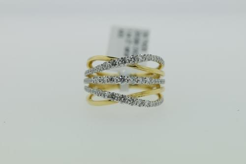 Triple Diamond Crossover Ring
