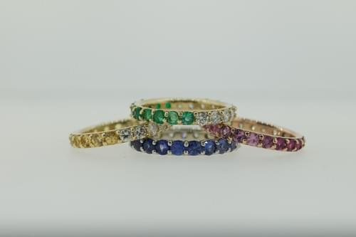 Ombre Rings - Prices Vary