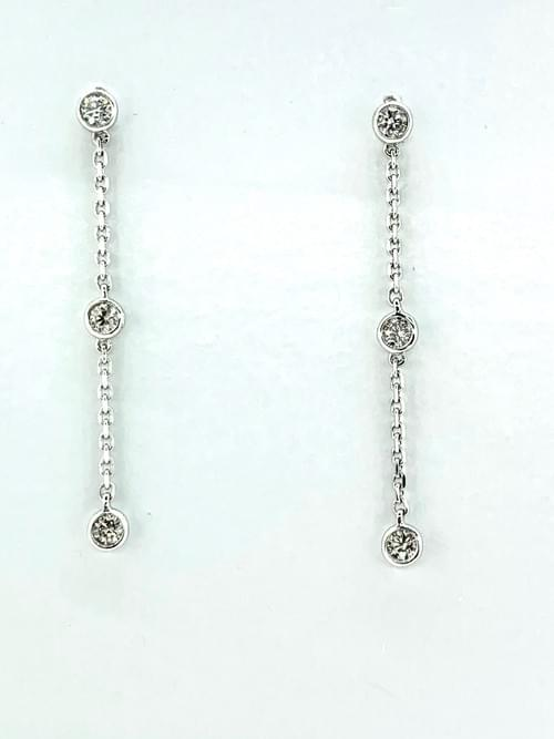 Diamonds By the Yard Earrings
